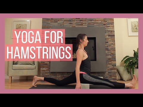 Get Into The Splits! - Hamstrings Yoga Flow - Lower Body Stretch {55 min}