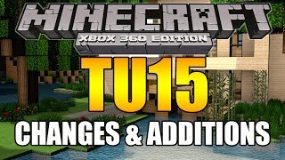 minecraft xbox ps3 tu15 full change log review released from 4j studios