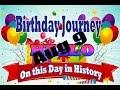 Birthday Journey August 9 New