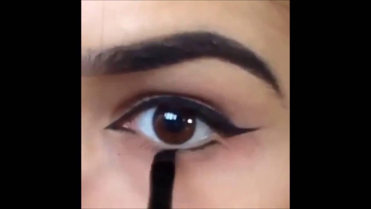 Alt Kirpiklere Nasıl Eyeliner Sürülür