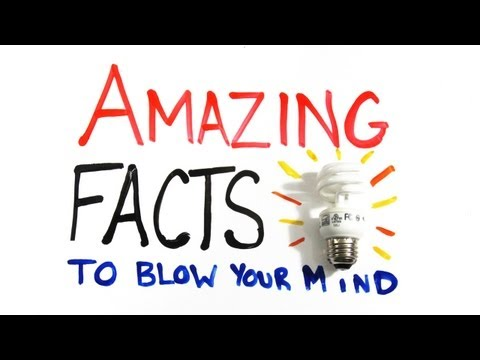 Amazing Facts to Blow Your Mind Pt. 1