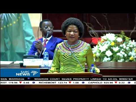 Mbete, Dlamini Zuma visit PAP
