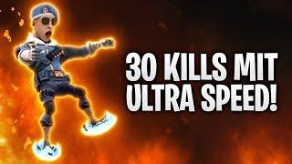 +30 KILLS mit ULTRA SPEED und UNENDLICH GRAPPLER! 🌪🔥 | Fortnite: Battle Royale