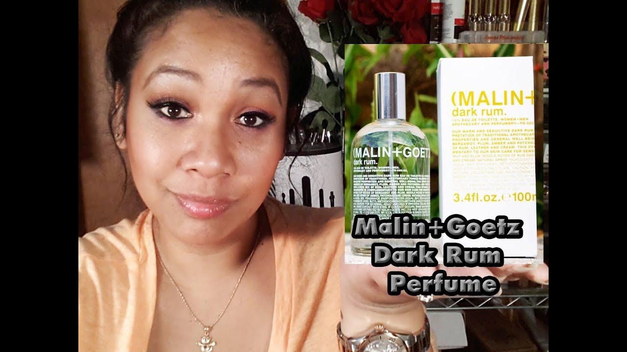 Amber Goetz malin+goetz dark rum eau de toilette - review | honey kahoohanohano