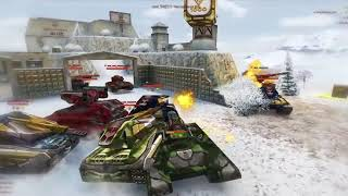 Tanki online    Gold montage and Race for GOLD