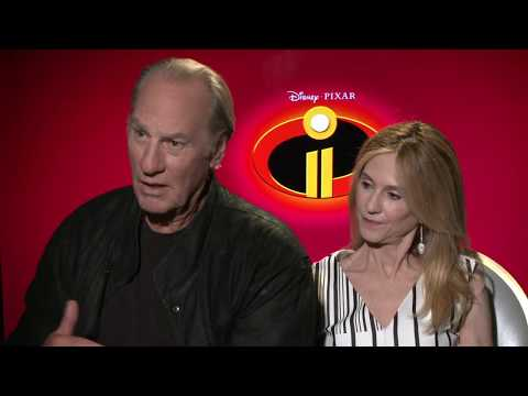 INCREDIBLES 2 Holly Hunter & Craig T. Nelson Interview en streaming