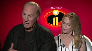 INCREDIBLES 2 Holly Hunter & Craig T. Nelson Interview
