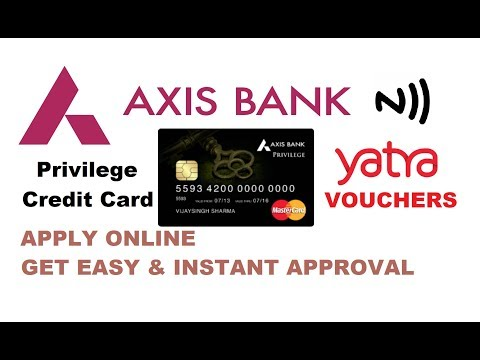 Axis Bank Privilege Credit Card | Features | Fees | Eligibility And Much More