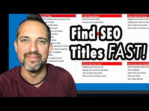 How to Create Good SEO Titles for YouTube Videos - Owen Video
