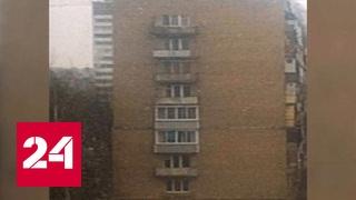Спасаясь от огня, москвичка прыгнула с 8-го этажа