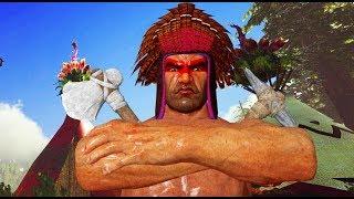 LA TRIBU INDIA SECRETA!! :O - 🤠#15 ARK, MONGOLOS ARMADOS - Nexxuz