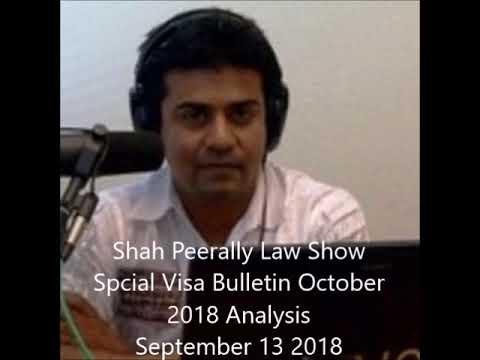 Immigration Law Show - Special Visa Bulletin October 2018