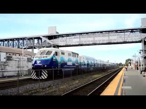 King County Metro & Sound Transit : Kent Station [ Sounder Commuter Rail & Routes 180, 183 & 566 ]