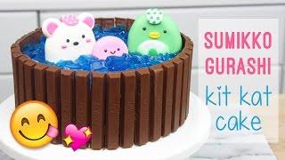 How to Make a Sumikko Gurashi Kit Kat Cake!