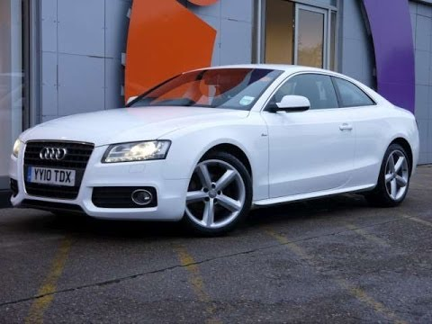 Review Our 2010 Audi A5 S Line 20tdi Coupe White For Sale In