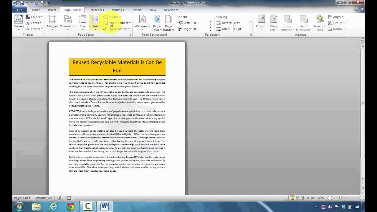 How to Remove a Watermark Background in Microsoft Word - YouTube