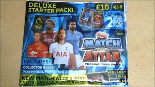 Match Attax 18/19 Premier League Deluxe Starter Pack Opening | 5 Packs | Superstar Limited Editions