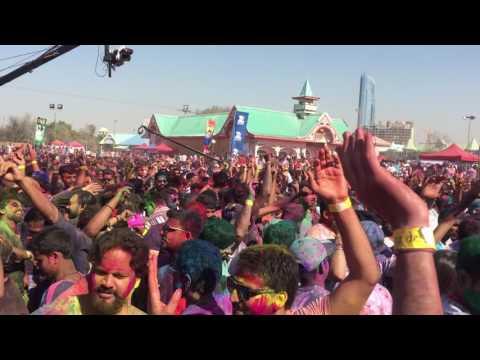 GURU RANDHAWA LIVE AT WONDERLAND DUBAI HOLI FESTIVAL PART 3