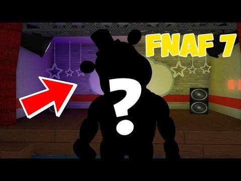 CREATING FNAF 7 ANIMATRONICS IN ROBLOX! (Roblox Animatronic World)