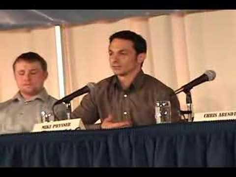 Mike Prysner Speaks Out part 1