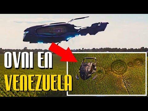 OVNI GIGANTE Aterriza En VENEZUELA Dejando EVIDENCIAS REALES | BASE SUBTERRÁNEA