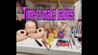 Making Reborn Baby Doll Time - Paint with nlovewithreborns2011