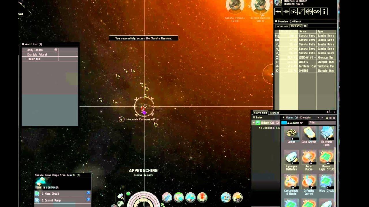 Eve Online Relic site tutorial