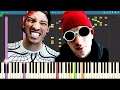 IMPOSSIBLE REMIX - Heavydirtysoul - Twenty One Pilots - Piano Cover