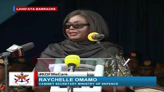 We haven't done enough to acknowledge our soldiers - CS Raychelle Omamo