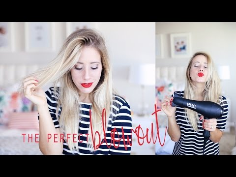 How To: Blow Dry Your Hair With A Round Brush | The Perfect Blowout