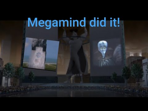 NASA & SpaceX Launch Astronauts (Portrayed By Megamind)