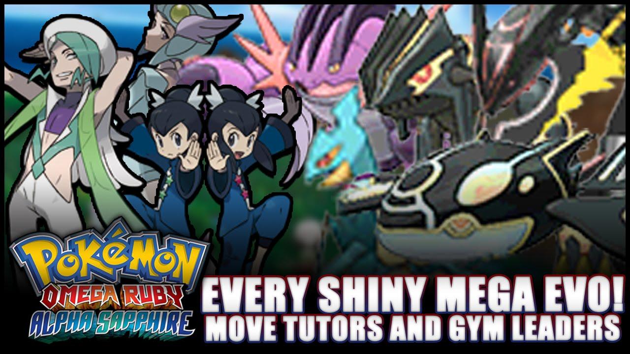 Pok 233 Mon Omega Ruby And Alpha Sapphire News All Shiny
