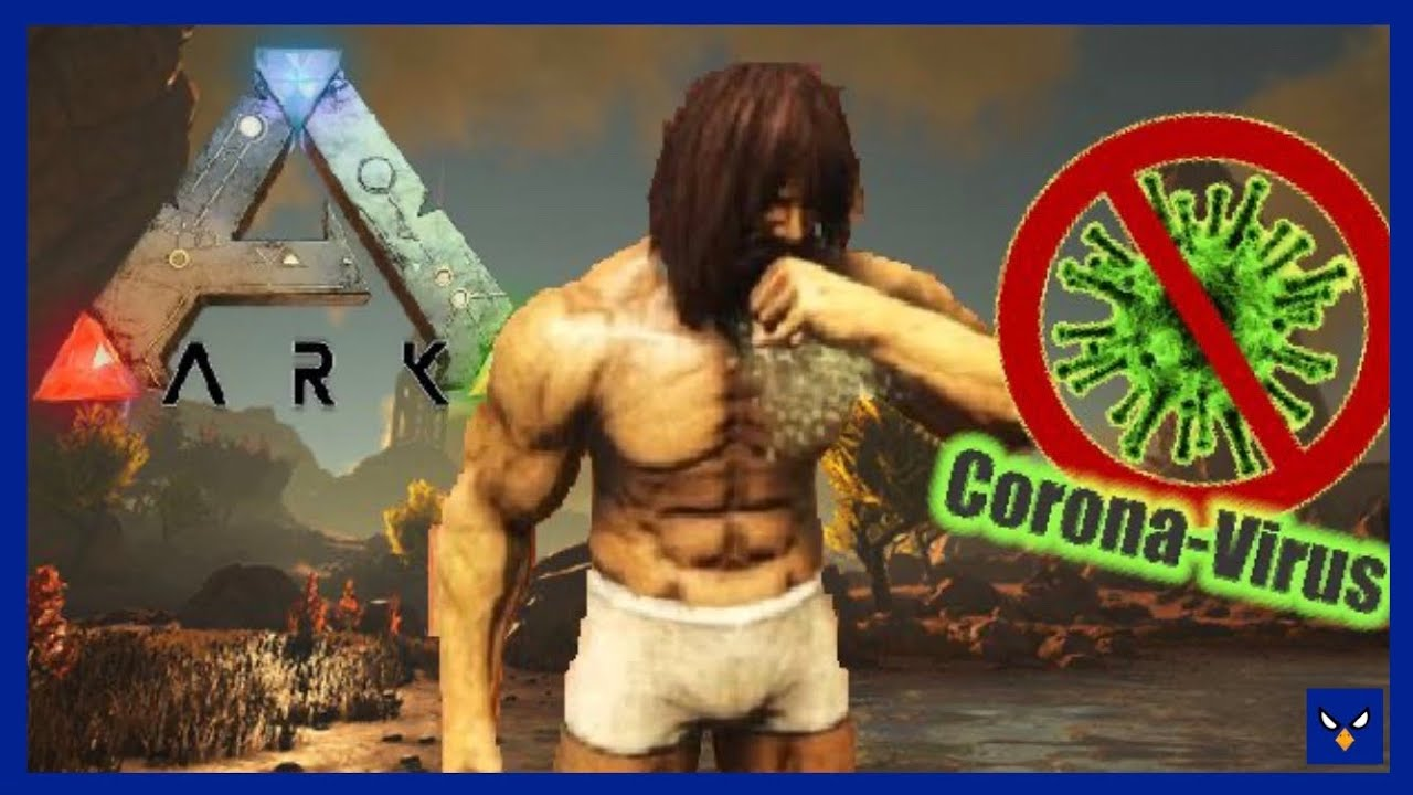 The CORONA Crew (Ark Survival Evolved Funny Moments)