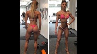 Szandra Horvath Super Bikini Model Workout and Physics