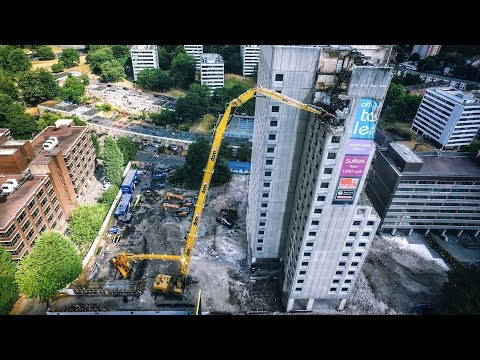 Demolition TV - DSM Group - Edgbaston, Birmingham