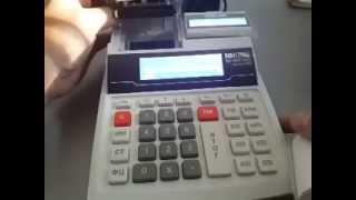 Заправка чековой ленты на  Порт MP-55B KZ ОФД