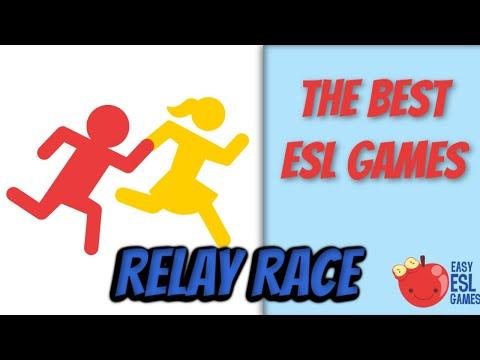 The Best ESL Games | Relay Race | Easy ESL Games