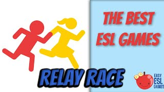 How To Use A Relay Race To Teach Vocabulary - Easy ESL Games