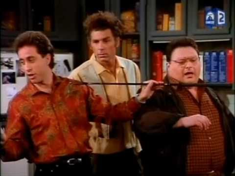 Seinfeld Kramer Acts Like A Dog