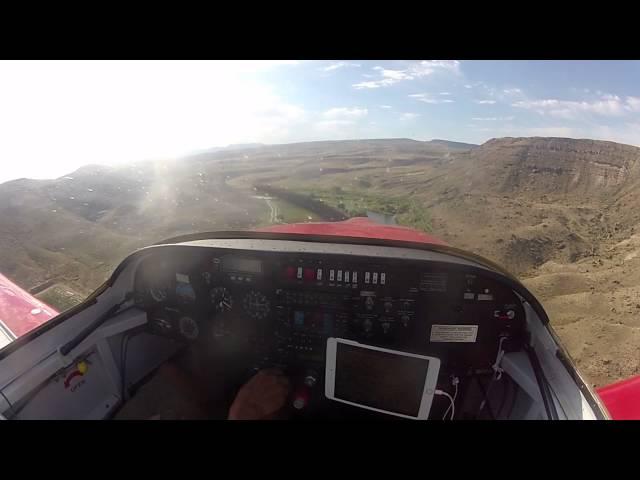 Gunnison River Farms Airstrip Approach and Landing in RV-6