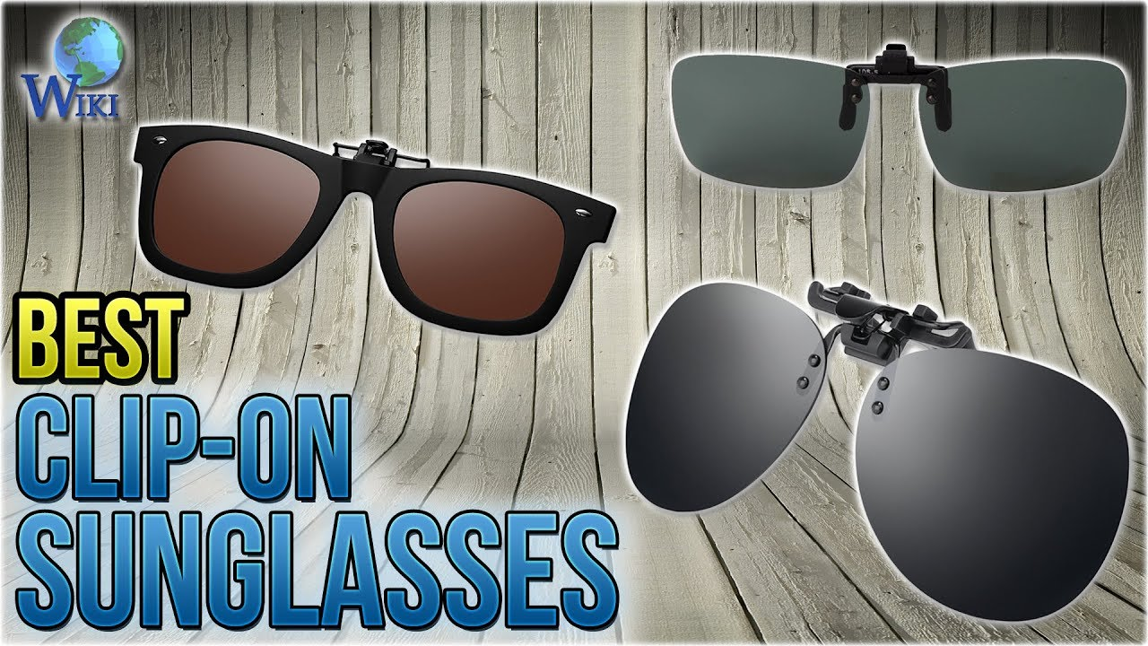 3aad6bd8195 10 Best Clip-on Sunglasses 2018 - YouTube