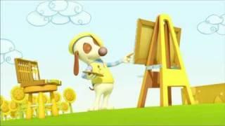 bebe tortuga van dogh caricaturas infantiles dibujos animados