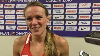 Simona Vrzalová po finále 1500 m na ME 2018