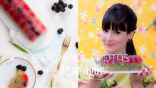 Terrine de Frutas com Ágar-Ágar | Vamos pra Cozinha #20