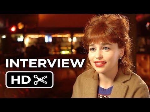 Dom Hemingway Interview - Emilia Clarke (2014) - Crime Comedy HD