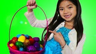 Easter Surprise Egg Hunt with Emma
