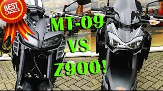 MT-09 vs Z900 - Which is better? Review & testride!