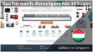 Suche nach Anzeigen für Häuser in Ungarn - Leben in Ungarn