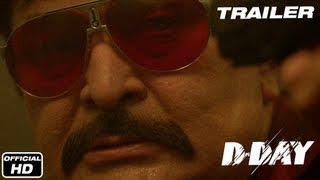 d day official trailer   rishi kapoor arjun rampal irrfan khan huma qureshi shruti haasan