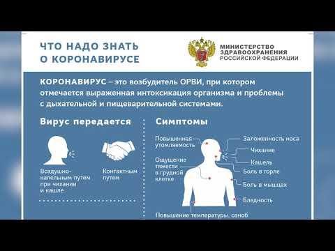 Официальная информация о заболевшем коронавирусом сергиевопосадце